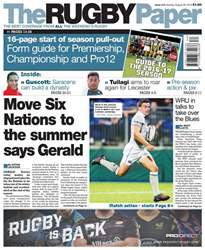 The Rugby Paper issue 28th August 2016
