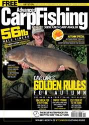 Advanced Carp Fishing issue October 2016
