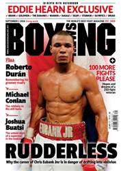 Boxing News UK issue 30/08/2016