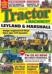 Tractor & Machinery issue Vol. 22 No. 12 Leyland & Marshall