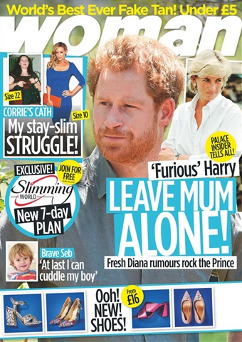 Woman issue 12th September 2016