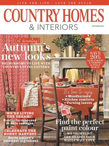 country homes amp interiors magazine october 2016