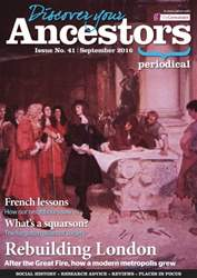Discover Your Ancestors issue September 2016