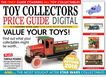 Toy Collectors Price Guide issue Autumn 2016