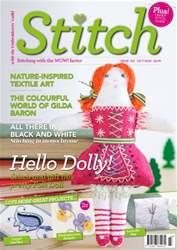 Stitch magazine issue October/November 16