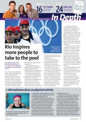 Swimming Times Preview 13