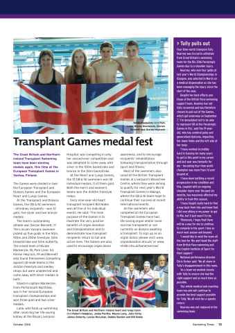 Swimming Times Preview 15