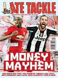 Late Tackle Football Magazine issue Sep/Oct 2016