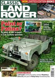 Classic Land Rover Magazine issue October 2016