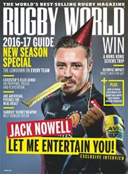 Rugby World issue October 2016