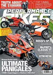 Performance Bikes issue October 2016