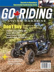 Go Riding ATVing Magazine issue September