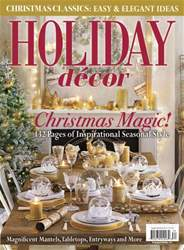 Holiday Decor Winter 2016 issue Holiday Decor Winter 2016