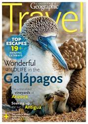 Canadian Geographic issue Fall Travel 2016