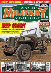 Classic Military Vehicle issue October 2016