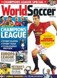 World Soccer issue October 2016