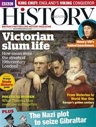 BBC History Magazine issue October 2016