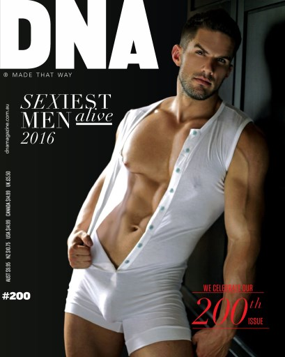 Dna Magazine 200 Sexiest Men Alive 2016 Subscriptions