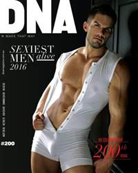 DNA Magazine issue #200 - Sexiest Men Alive 2016