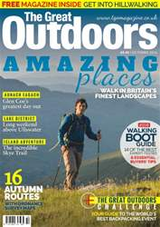 TGO - The Great Outdoors Magazine issue October 2016