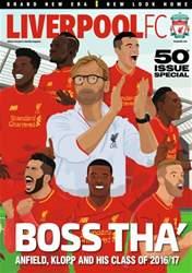 Liverpool FC Magazine issue October 16