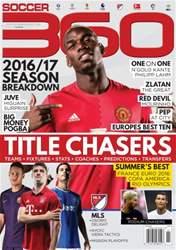 Soccer 360 issue Issue 65 September / October 2016