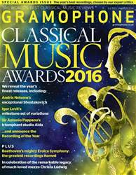 Gramophone issue Awards 2016
