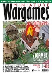Miniature Wargames issue October 2016
