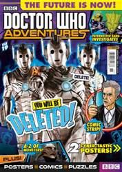 Doctor Who Adventures Magazine issue 15.09.2016