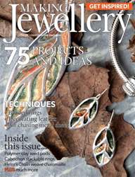 Making Jewellery issue October 2016