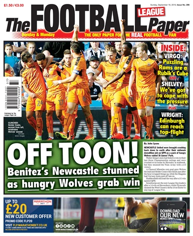The Football League Paper Preview 1
