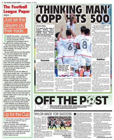 The Football League Paper Preview 6