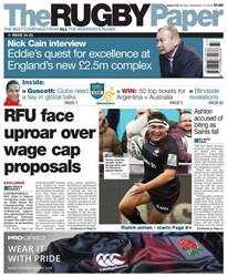 The Rugby Paper issue 18th September 2016