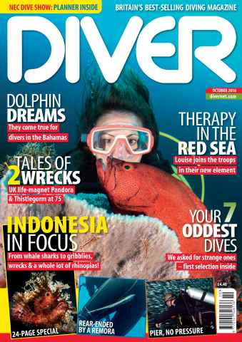 DIVER issue OCTOBER 2016