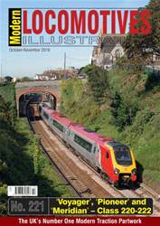 Modern Locomotives Illustrated issue Issue 221