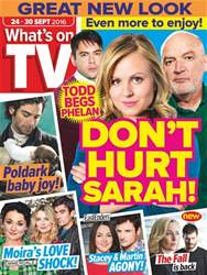What's on TV issue 24th September 2016