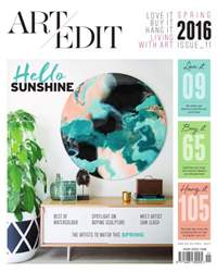 Art Edit issue Art Edit Spring issue 11