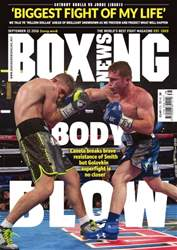 Boxing News International issue 20/09/2016