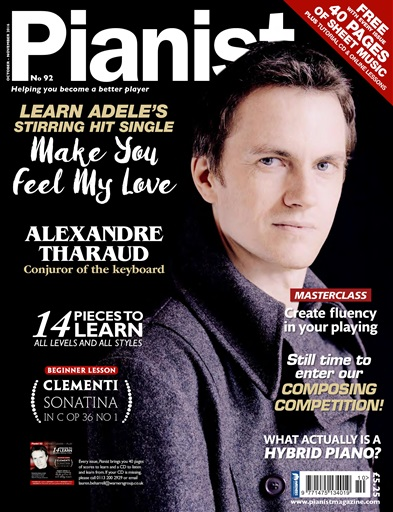 Pianist issue Pianist 92 October-November 2016