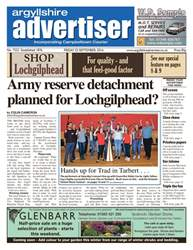 Argyllshire Advertiser issue 23rd September 2016