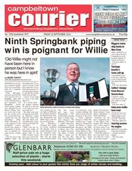 Campbeltown Courier issue 23rd September 2016