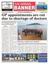 Arran Banner issue 24th September 2016