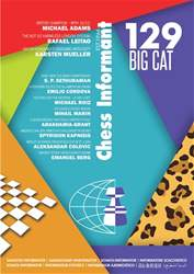 Chess Informant issue Chess Informant 129 Big Cat  (September 2016)