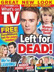 What's on TV issue 1st October 2016