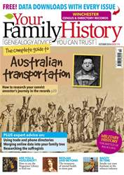 Your Family History issue October 2016
