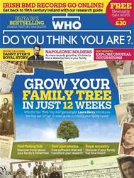 Who Do You Think You Are? issue October 2016
