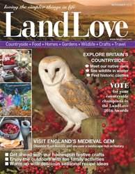 LandLove Magazine Magazine Cover