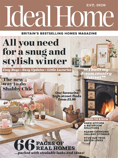 Ideal home magazine november 2016 subscriptions pocketmags for Home builders magazine