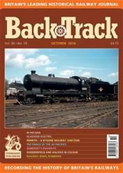 Backtrack issue October 2016