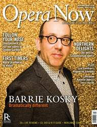 Opera Now issue October 2016